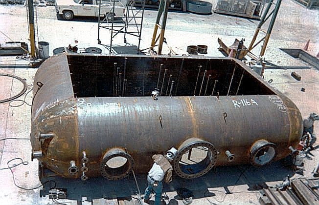 ASME Double Wall, Obround Pressure Vessel